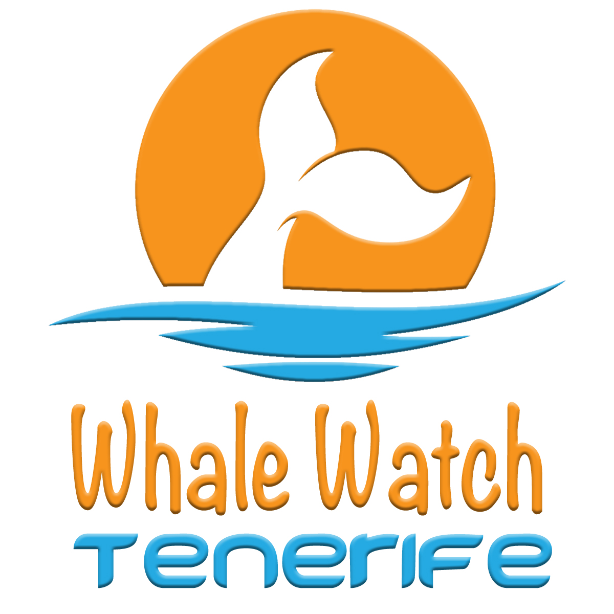 Whale Watch Tenerife Logo Square Stacked